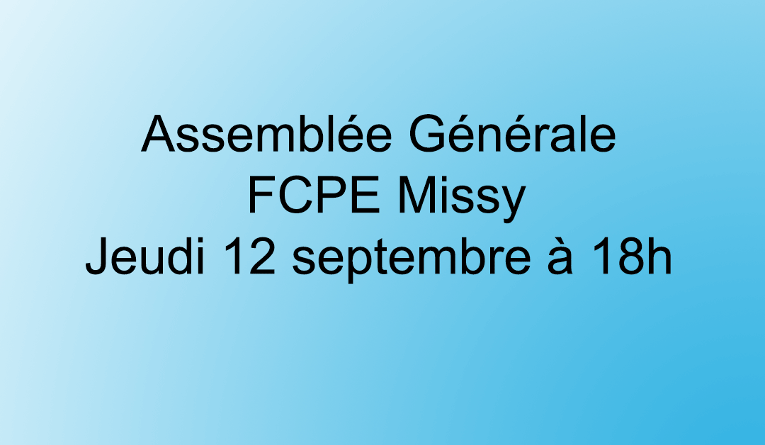 AG Bureau Local FCPE Missy