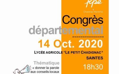 Congrès Départemental FCPE 17